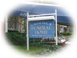 Advantage Funeral Home by G Frank Page Jr Funeral Home The Page Advantage