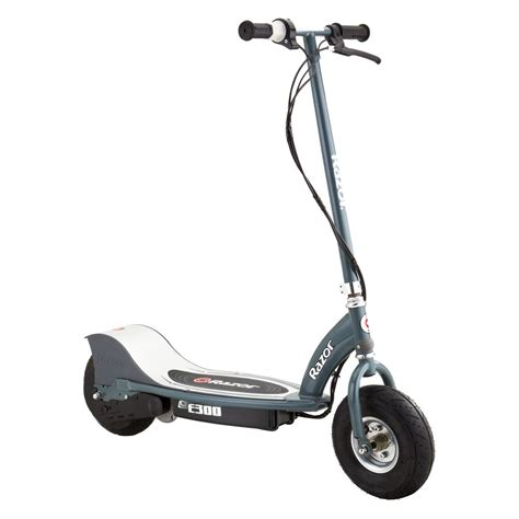 motorized razor razor 174 13113614 e300 gray electric scooter
