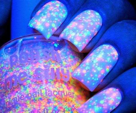 Magnetic Chandelier Glow In The Dark Neon Nail Polish Follownews