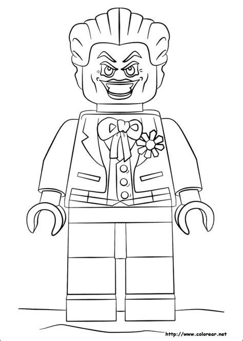 imagenes de joker para colorear dibujos para colorear de lego batman