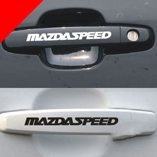 Stiker Set Decal Type 2 Mazdaspeed Popular Mazda Decals Buy Cheap Mazda Decals Lots From