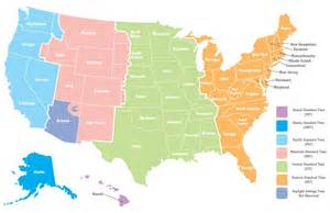 us map broken by time zones why do we different time zones wonderopolis