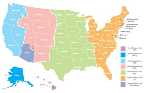 map of usa showing different time zones why do we different time zones wonderopolis
