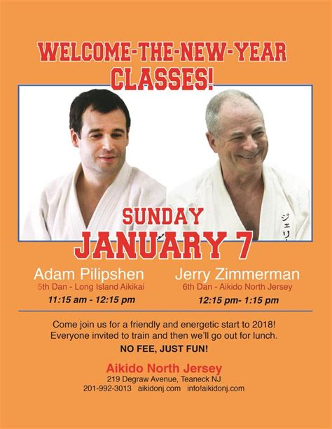 welcome the new year welcome the new year classes island aikikai