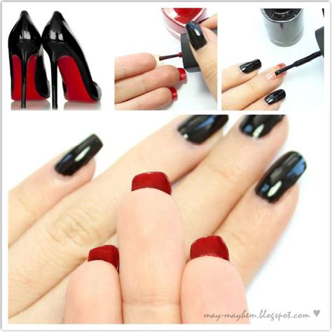 tutorial de uñas instagram nail art louboutin tutorial paso a paso para decorar las