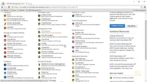aws management console 3 demo aws management console