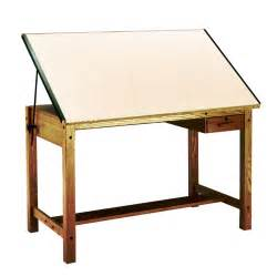 Wooden Drafting Table Mayline 7707a Wood Four Post Drafting Table 72 Ships Free