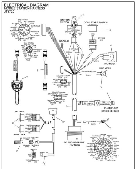 ditch witch parts diagram ditch witch electrical diagrams repair wiring scheme