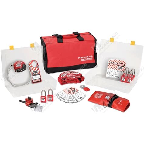 Masterlock 1458ve410 Lockout Kits lockout kits and stations master lock lockout kit company name hartac australia