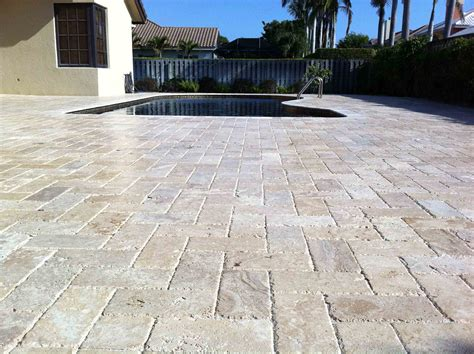 outdoor pavers for patios travertine pavers design ideas for patios is a