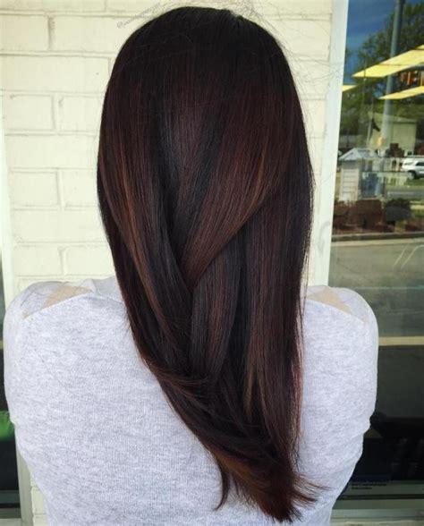 fall highlights for brown hair best 25 dark fall hair colors ideas on pinterest