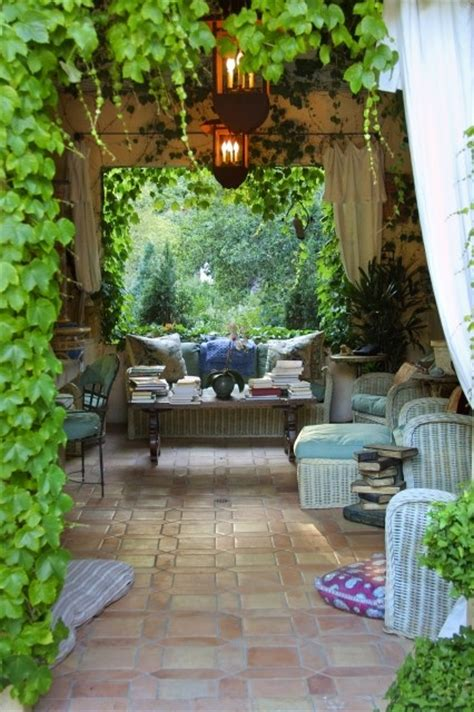 romantic and cozy atmosphere under a pergola i love the elegant country garden favething com