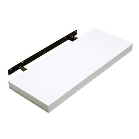 hudson small meduim high gloss white shelf kit wall