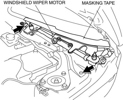 service manual repair windshield wipe control 2000 mazda miata mx 5 parental controls mazda 3 service manual windshield wiper motor removal installation wipers