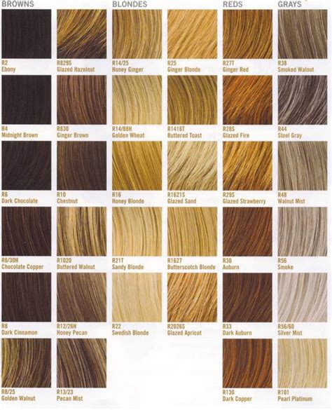 nice and easy color chart clairol nice n easy hair color chart hair color charts