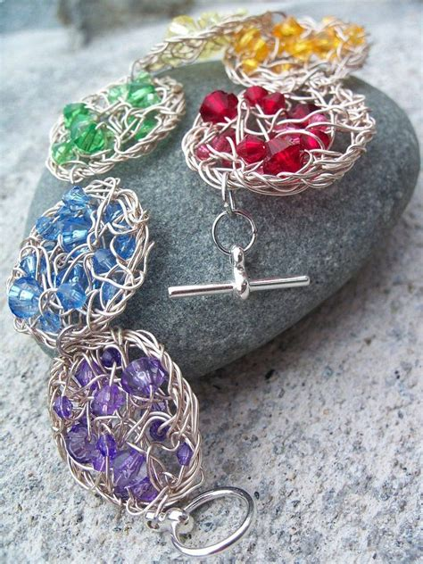 patterned wire for jewelry the diy wire crochet jewelry free pattern