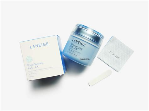 Laneige Water Sleeping Pack laneige water sleeping pack ex review marxie