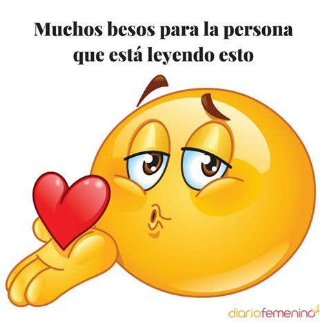 imagenes de emoji con frases de amor frase de amor con emoticono 161 besos por whatsapp