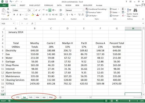 How To Create 3d Worksheets In Excel 2013 Pcworld Pc Build Excel Template