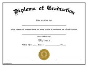 Free Printable High School Diploma Templates by Diploma Of Graduation Free Printable Allfreeprintable