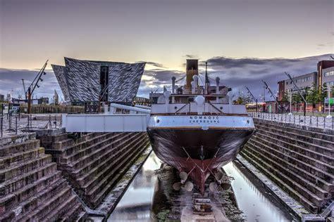 titanic boat ride belfast titanic tour met bezoek aan ss nomadic