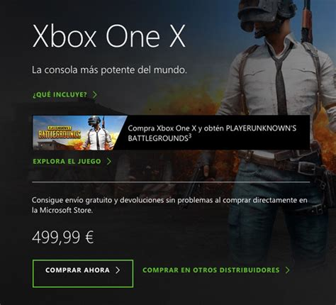 pubg xbox one x patch xbox one x incluir 225 una copia de pubg hasta el 31 de