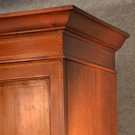 antique armoire with mirror and drawers antique wardrobe armoire mirror door maple co quality