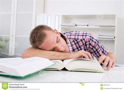 Student Sleeping On Desk student sleeping at desk stock images image 35321424