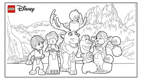 coloring pages lego frozen have lots of fun with frozen lego 174 coloring sheets