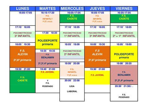 Calendario Fiestas Judias 2018 Calendario Escuela De Deporte Quino Curso 2017 2018 H 237 Jar
