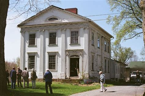 greek revival style dr peter allen greek revival style house kinsman oh
