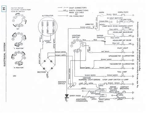 triumph tr6 fog l wiring diagram free wiring