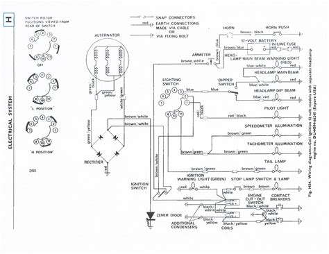 tr4 wiring diagram