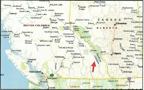 road map western canada and usa map of west canada derietlandenexposities
