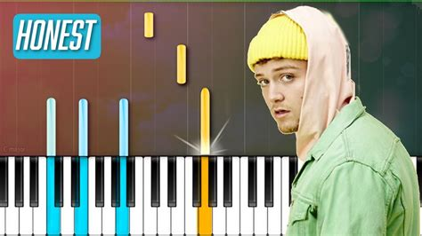 bazzi chord bazzi quot honest quot piano tutorial chords how to play