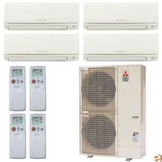 Mitsubishi Mr Slim Msz Muz Gl12na Ductless Mini Split Heat 1000 Images About Home Kitchen Air Conditioners