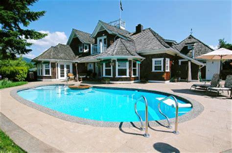 hacienda stil home pläne une piscine pour agr 233 menter sa maison
