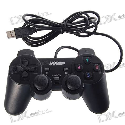 Usb Gamepad usb gamepad controller for pc 160cm cable free shipping dealextreme