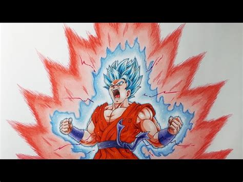 despacito goku drawing goku kaioken drawing goku kaioken from dragon ball z