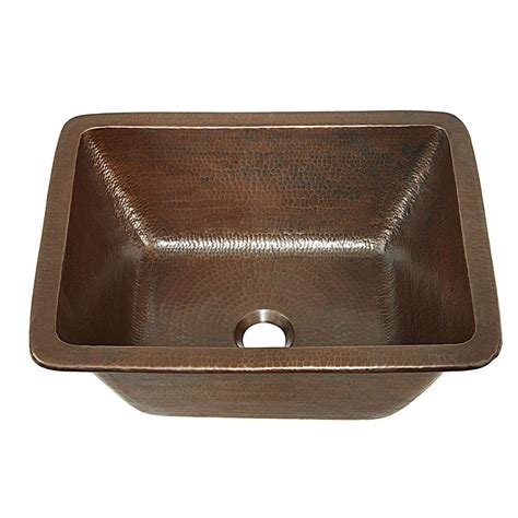 Handmade Sink - sinkology hawking dual mount handmade solid copper