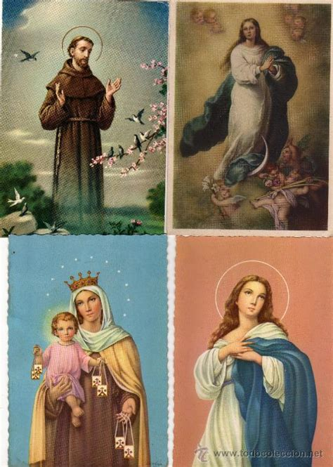 imagenes religiosas online lote de postales de santos religiosas 10 post comprar
