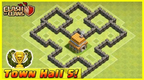 clash of clans layout strategy level 4 cool clash of clans defense strategy townhall level 5