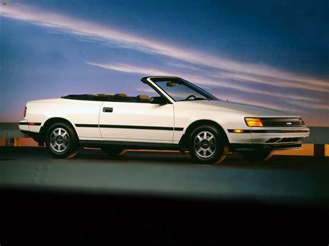89 Toyota Celica Toyota Celica 2 0 Gt Convertible Us Spec St162 1988 89