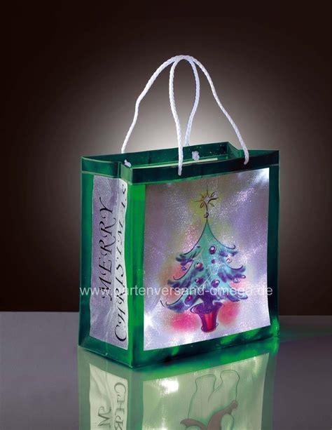 Weihnachtsdeko Fenster Kabellos by Batteriebetriebene Led Weihnachtsdekoration Dekotasche