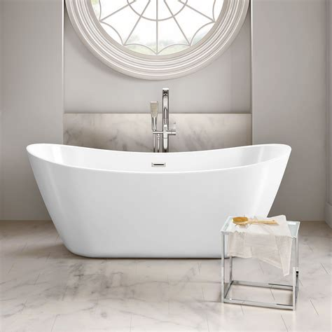 roll top bath shower screen modern bathroom designer curved freestanding roll top bath tub br269 ebay