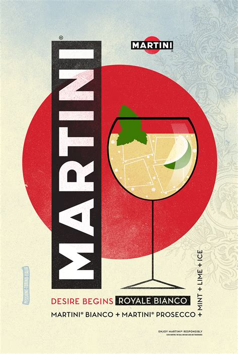 Franklin Gomez Martini Cocktail Poster