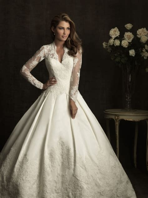 bridal dresses uk v neck wedding gowns