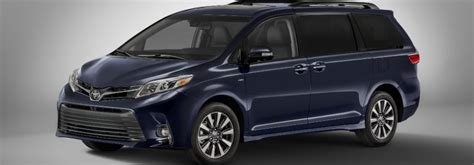 toyota deals now toyota safety sense now standard in 2018 toyota sienna