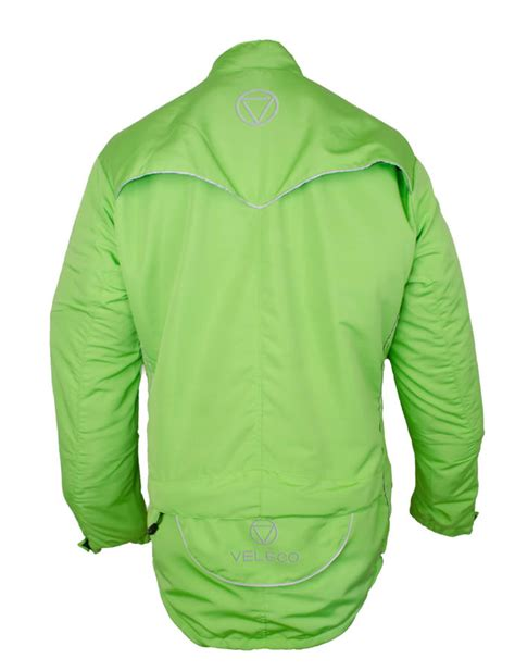 green cycling jacket veleco re cycle softshell cycling jacket lime green veleco