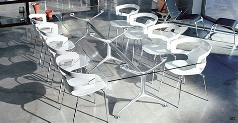 Black Glass Boardroom Table Frame Glass Meeting Tables